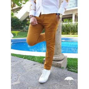 Pantalón Skinny Amarillo Moon & Rain Tiendas Platino