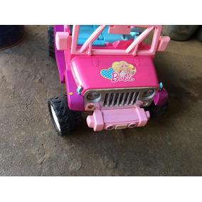 Jeep Barbie A Bateria