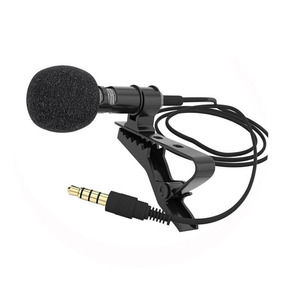 Microfone De Lapela Profissional Para Celular P3 Stéreo