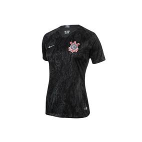 db62af2efe Camiseta Do Corinthians Feminina Oficial Cropped - Calçados