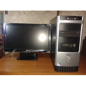 Computadora Dual Core Con Monitor Led