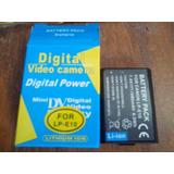 Sgg Photo Video Bateria Generica Para Canon Lp-e10