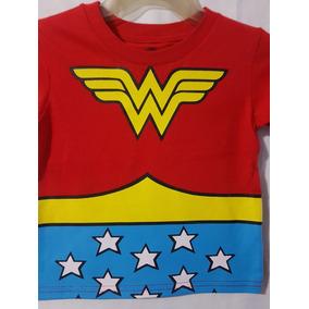 Playera Mujer Maravilla ( Wonder Woman ) Niña Original 110589addcba0
