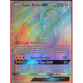 Tapu Koko Gx Ultra Rara Pokemon Tcg