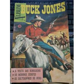 Album Buck Jones Nº6 - Ebal - Ótimo - 1975