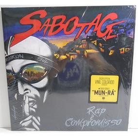 Sabotage 2001 Rap É Compromisso Lp Duplo Reedição Lacrado