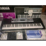 teclado yamaha ypt 360 teclados y pianos en mercado. Black Bedroom Furniture Sets. Home Design Ideas