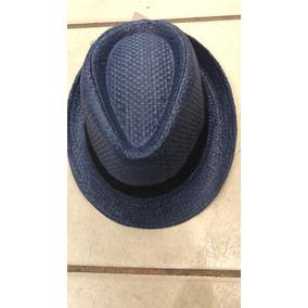 29c10a0e181f8 Chapeu Panama Azul - Chapéus no Mercado Livre Brasil