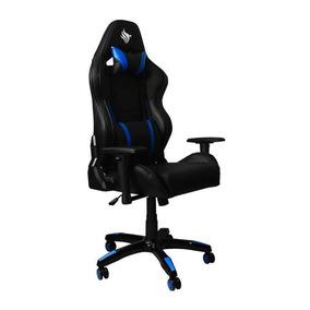 Cadeira Pichau Gaming Fantail Azul, By-8179-azul