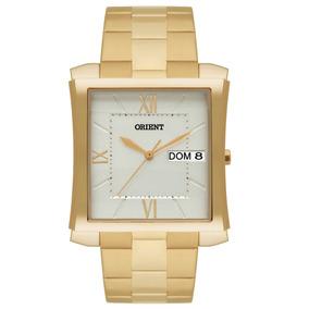 Relógio Orient Masculino Social Ggss2001 S3kx Dourado Oferta