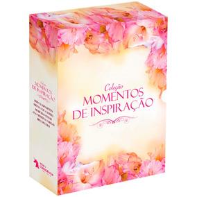 Box - Coleção Momentos De Inspiração - 5 Volumes - Lacrado