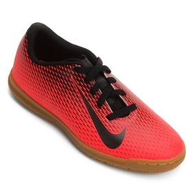 Nike Chuteiras Infantil Vermelha Futsal - Chuteiras para Infantis no ... ea1d2c0045b96