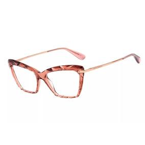 26f2febc4517b Oculos Sem Grau Gatinho Transparente Colcci - Óculos Rosa no Mercado ...