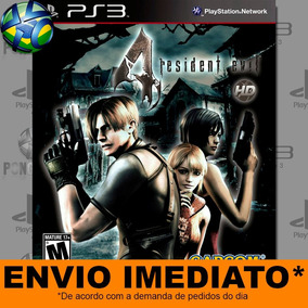 Jogo Resident Evil 4 Ps3 Envio Agora Mídia Digital Psn