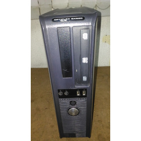 Cpu Dell Small Optiplex Gx 620 - Hd 160 Gb - Usado