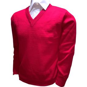 Sweater Escolar Liso Varios Colores Y Tallas