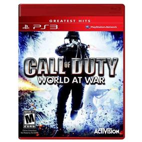 Jogo Call Of Duty World At War Ps3 Mídia Física Frete Grátis