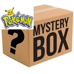 Caixa Misteriosa Pokemon Diversos Detalhes Na Descrição