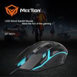 Mouse Gamer Pro Experto Meetion M371 Retroiluminado Luces