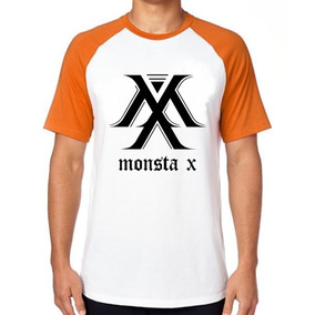 Camiseta Blusa Camisa Monsta X Kpop K Pop Koreana Music Bts d3339551a5e8f