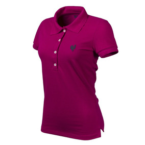 Camisa Polo Feminina Casual Pink Made In Mato Jãum Jãum 5c2b308bf4939