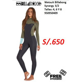 Wetsuit 4 3 - Artículos para Surf y Bodyboard en Mercado Libre Perú ebcdafe66
