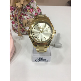 9001a6c0cea Relogio Allora Al2035ch 4x - Relógios De Pulso no Mercado Livre Brasil
