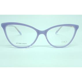 73b1f24cca844 Armacao Oculos Feminino Grau Acetato - Óculos Lilás no Mercado Livre ...