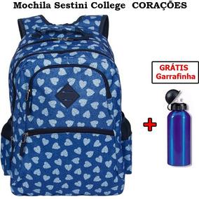 Mochila Sestini College - Corações