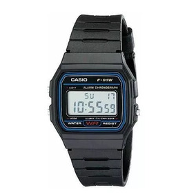 fa8178212f6 Casio Digital Esportivo F 91w 1dg - Relógios De Pulso no Mercado ...