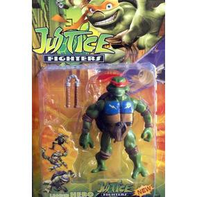 Juguetes Muñecos Tortugas Ninja Figura Articulada Para Niño
