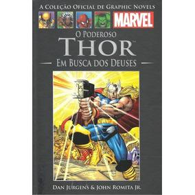 Graphic Novel Marvel Nº 16 (thor - Em Busca Dos Deuses)