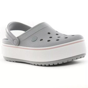 Crocs Crocband Platform Con Plataforma Mujer Entrega Ya!!