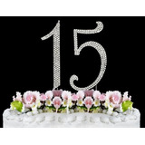 Diamantes De Imitación De La Torta Número 15 Por Otra