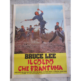Il Colpo Che Frantuma Bruce Lee Cartaz Original Cinema