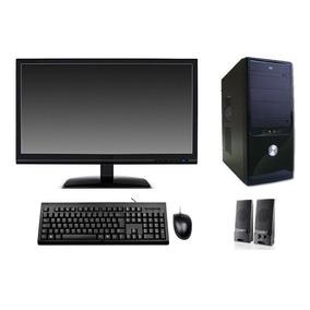 Computador C2d 4gb Hd 500gb Monitor Lcd 19