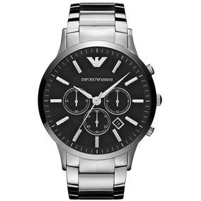 Relógio Emporio Armani Ar2460 Original C/ Caixa + 3 Anos De