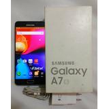 Galaxy A7 2016, Sma710m, Negro, Estetica 8.5, En Caja, Libre