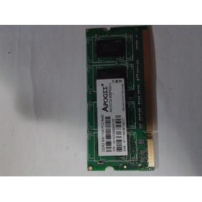 Memória Ddr2 1gb Apogee As1g732-800pb05-c