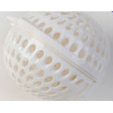 White Laundry Bra Washing Ball For Upto Sizes Ddd & E Cups