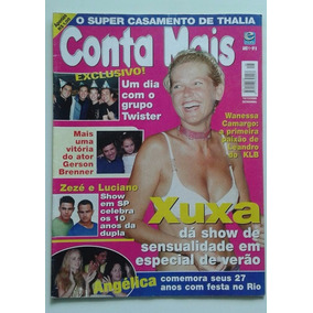 Revista Conta Mais Nº 08 - Dez. 2000 - Xuxa, Thalia, Zezé