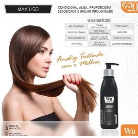 Fluido Modelador Max Liso Wu Cosmeticos 250ml Profissiional