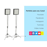 2 Pçs Soft Box _ Top _ Canal _ Facebook _ Blog