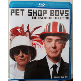Bluray Duplo Pet Shop Boys Historical Collection Frete Gráti