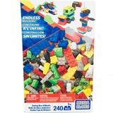 Caja De Bloques 240 Pz Mega Bloks