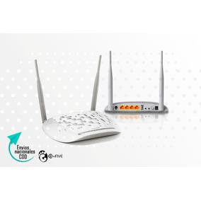 Router Tp Link 8961n Adsl Moden 2 Antenas 300mbps Td-w8961n