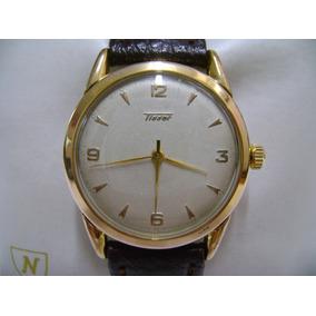 Reloj Tissot De Omega De Cuerda Vintage Muy Coleccionable