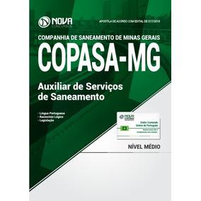 Apostila Copasa-mg 2018 - Auxiliar De Serviços De Saneamento