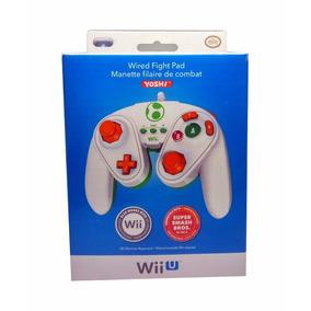 Controle Wii U Ed Especial Com Fio Yoshi Licença Da Nintendo
