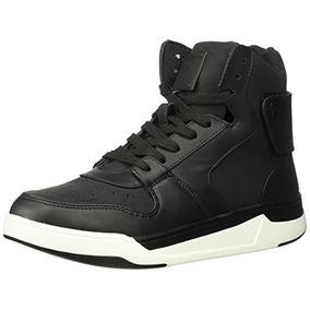 check out 7b62d 8c650 Guess Whalen Sneaker Para Hombre, Negro, 12 Mediano Ee. Uu.